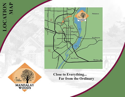 Mandalay Woods Location Map